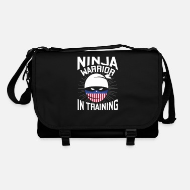 Ninja Warrior in Training - tough fighter - Shoulder Bag