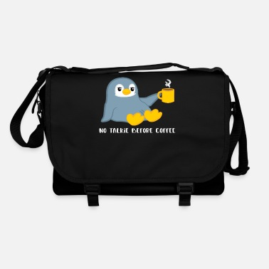 Penguin Penguin - penguins - penguin motif - coffee - Shoulder Bag
