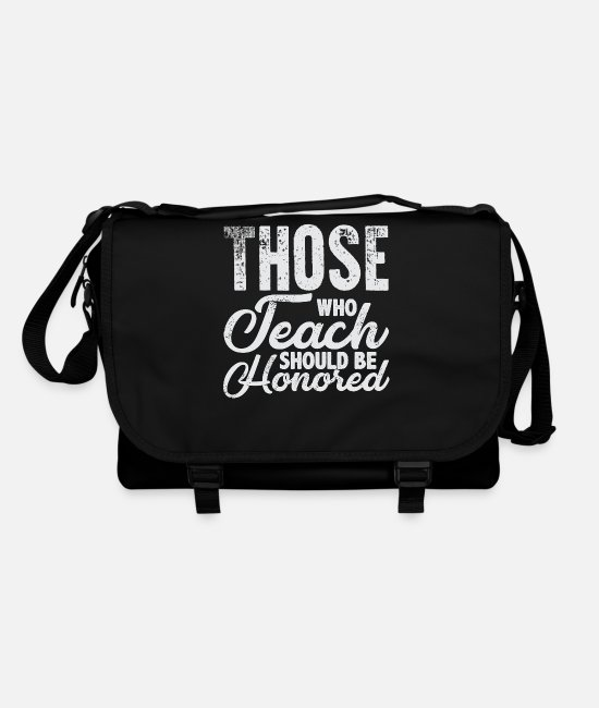 Christmas Bags & Backpacks - Teaching Teaching Teaching Teacher Teaching Class - Shoulder Bag black/black
