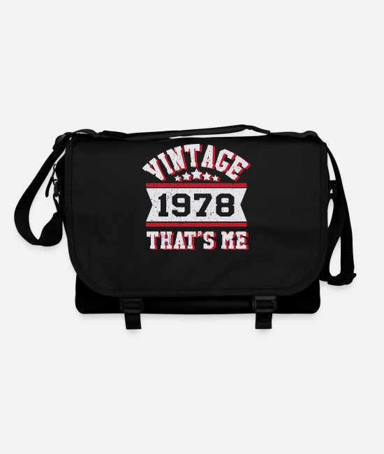 Party Bags & Backpacks - VINTAGE 1978 - Shoulder Bag black/black