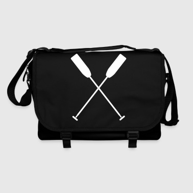 Crossed paddle dragon boat canoe 1 c. - Shoulder Bag