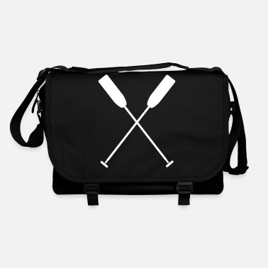 Dragon Boat Crossed paddle dragon boat canoe 1 c. - Shoulder Bag