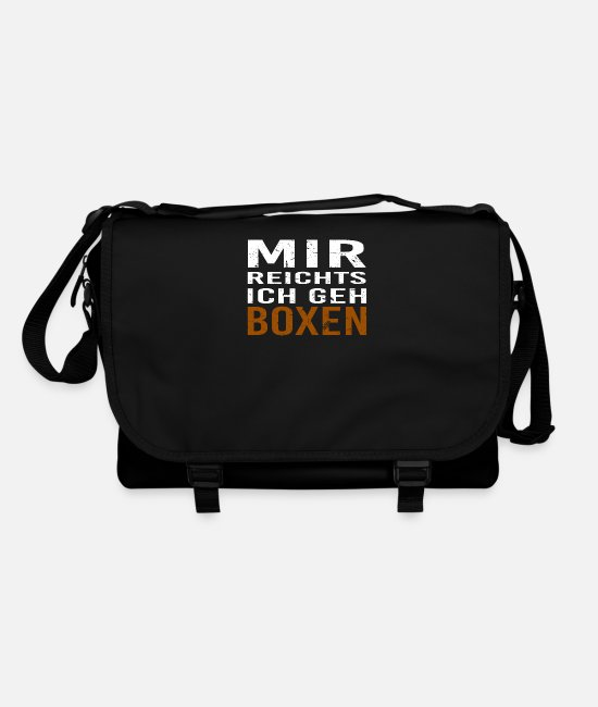 Fighter Bags & Backpacks - boxer - Shoulder Bag black/black