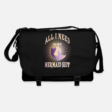 Trendsport Trendsport Mermaid Mermaiding Gift - Shoulder Bag