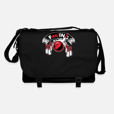 Ball Bowling bowling bowler gift - Shoulder Bag