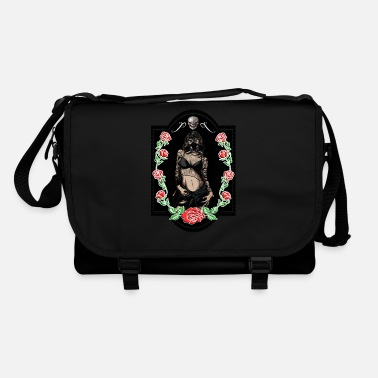 Trend Underwear Power Woman Feminism Gas Mask Rose Sexy Pride - Shoulder Bag