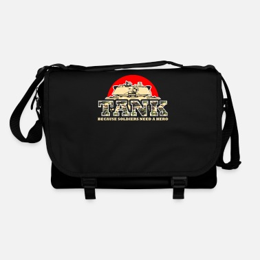 Panzer Division Abrams tank war military gift idea veteran - Shoulder Bag