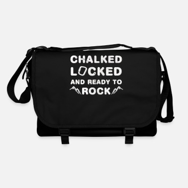 Slogan Climbing Bouldering Mountaineering slogan - Shoulder Bag