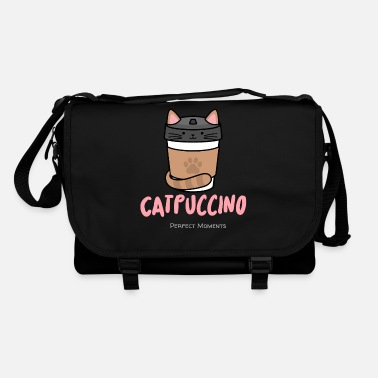 Puccino Cat - puccino .... gourmet coffee - Shoulder Bag