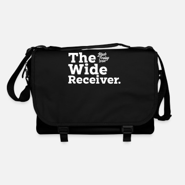Wide Receiver Black Friday TShirt Wide Receiver Offer USA Money - Borsa a tracolla