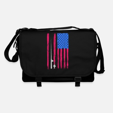 Flag America fishing rod - Shoulder Bag