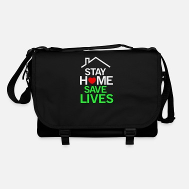 Stay home save lives - Shoulder Bag