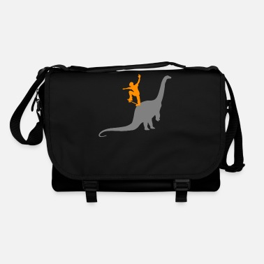 Boarders Skater Skateboard Skate Skating Dino Dinosaurs - Shoulder Bag