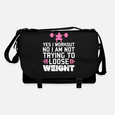Freak Yes I Workout Funny Gym Fitness Women Girls - Shoulder Bag