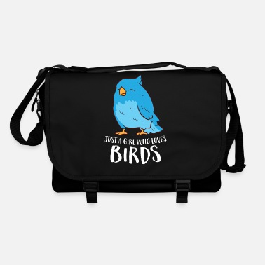 Girl Just A Girl Who Loves Birds Cute Bird Girl - Shoulder Bag