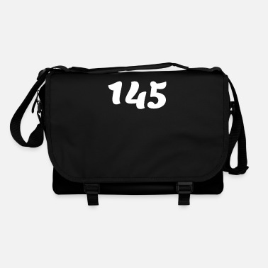 Date One Hundred Forty Five 145, 145, nombre, 145, cent - Shoulder Bag