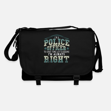 Policeman Police officer cop sheriff gift police violence - Shoulder Bag