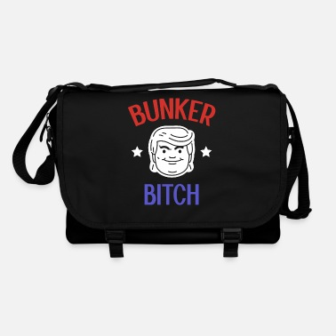 Fuck Bunker Bitch - Anti Trump Gift - Shoulder Bag