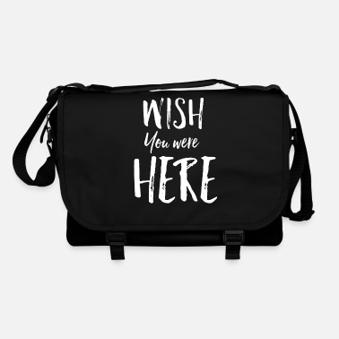 Wish You Wish you were here - Shoulder Bag
