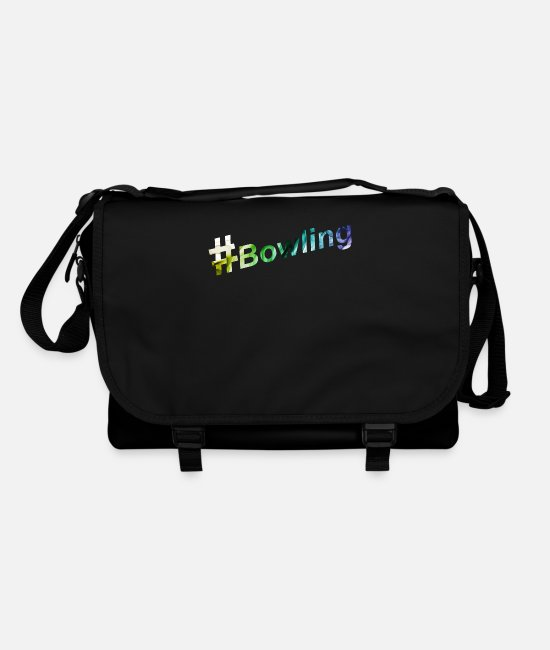 Bowling Club Bags & Backpacks - Bowling Christmas present - Shoulder Bag black/black