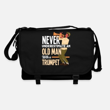 Club Music Trumpet grandpa musician music - Shoulder Bag