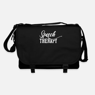 Practice Speech therapy profession speech therapist lisp speech therapist - Shoulder Bag