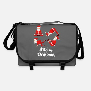 Yoga Yoga Christmas Fitness - Shoulder Bag
