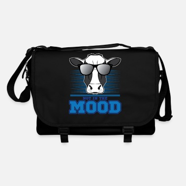 Gift Cow Funny T Shirt - Sarcastic Pun, Not In The Mood - Umhängetasche
