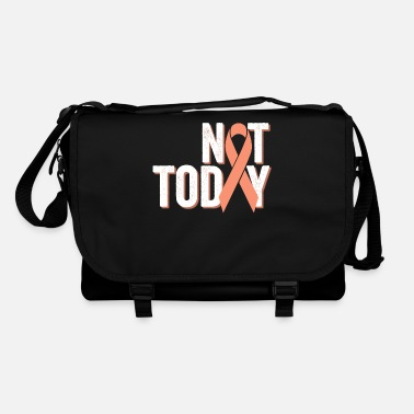 Endometrial Cancer Survivor Not Today | Uterine Endometrial Cancer Warrior - Shoulder Bag