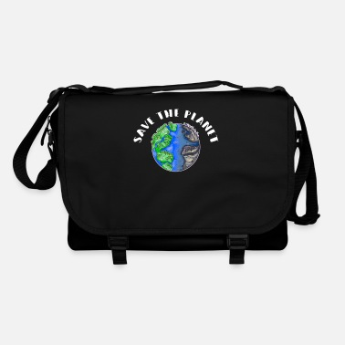 Bee Save The Planet Sustainability Nature Conservation Environment - Shoulder Bag