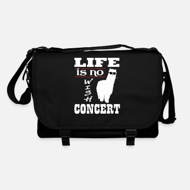 Wish Alpaka Denglisch - Life Is No Wish Concert Alpaca - Bandolera