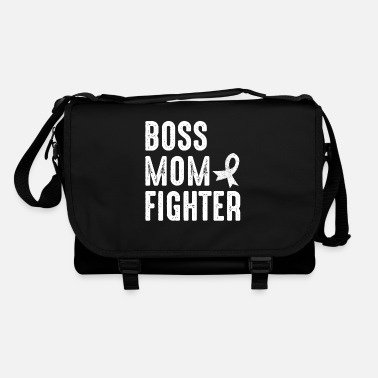 Endometrial Cancer Awareness Boss Mom Grandma Fighter Cancer Gift - Shoulder Bag