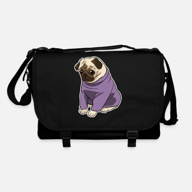 Pug cute dog - Shoulder Bag