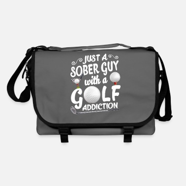 Guy Fawkes Just A Sober Guy With A Golf Addiction T Shirt - Shoulder Bag