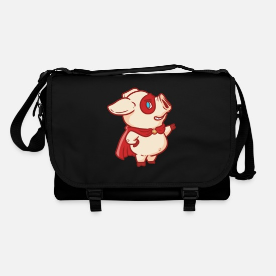Hero Bags & Backpacks - Super Pig Super Pig - Shoulder Bag black/black