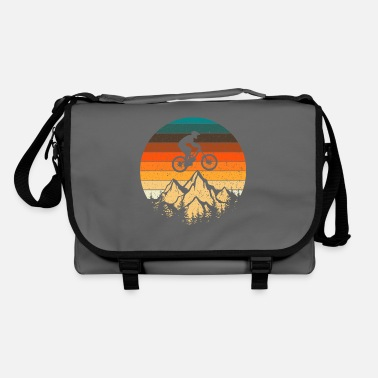 Tain Mountain bike downhill retro vintage gift - Shoulder Bag