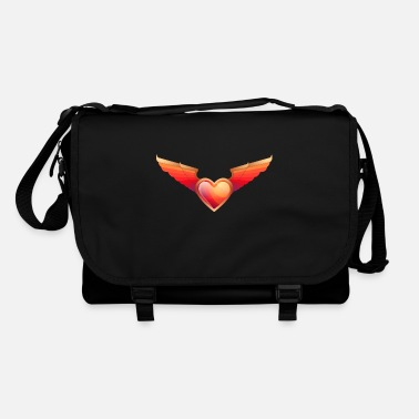 Bewinged The winged heart - Shoulder Bag