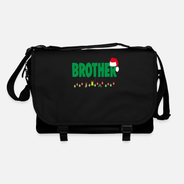 Light Christmas Brother Sibling Xmas Apparel - Shoulder Bag