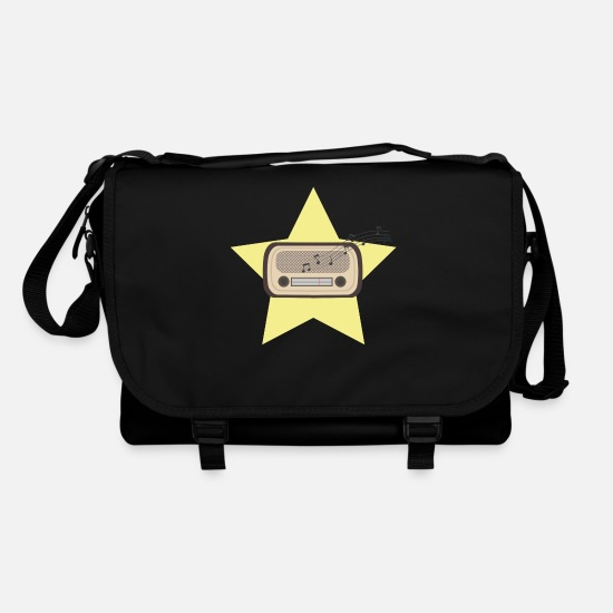 Broadcast Bags & Backpacks - Retro Radio - Shoulder Bag black/black