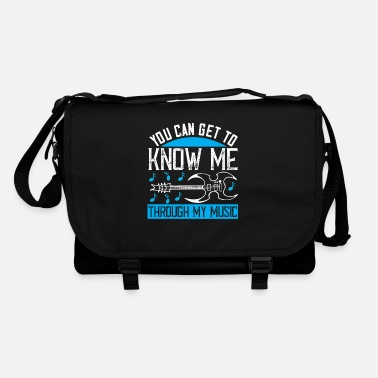Playing Music - Know me through my music - Shoulder Bag
