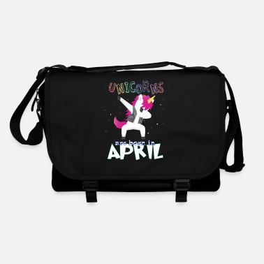 Born In Born Unicorns-Born April - Shoulder Bag