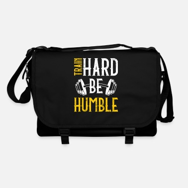 Cardio Train hard be humble - Shoulder Bag