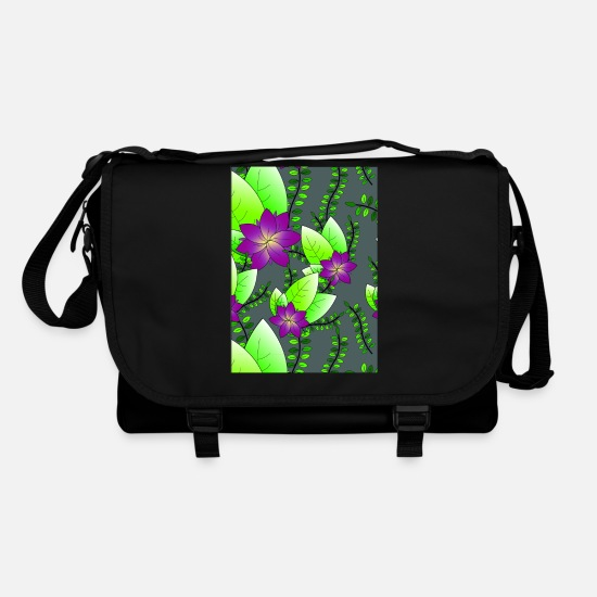 Natürlich Bags & Backpacks - Flowers0817 - Shoulder Bag black/black