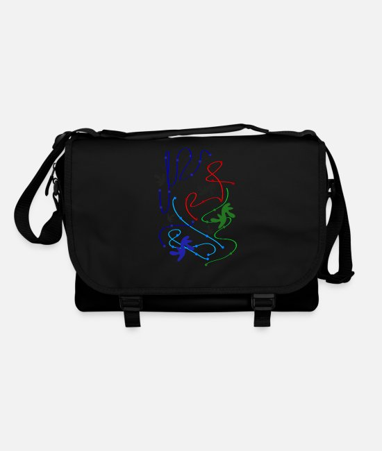 Stains Bags & Backpacks - abstract spots - Shoulder Bag black/black