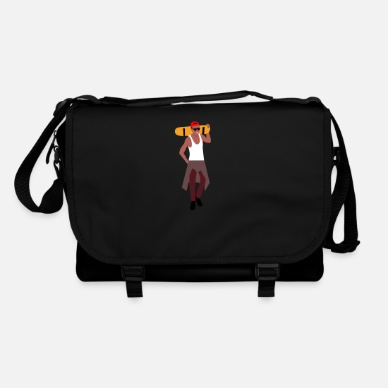 Skateboard Bags & Backpacks - Skater - Shoulder Bag black/black