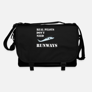 Real pilots don't need runways - Shoulder Bag