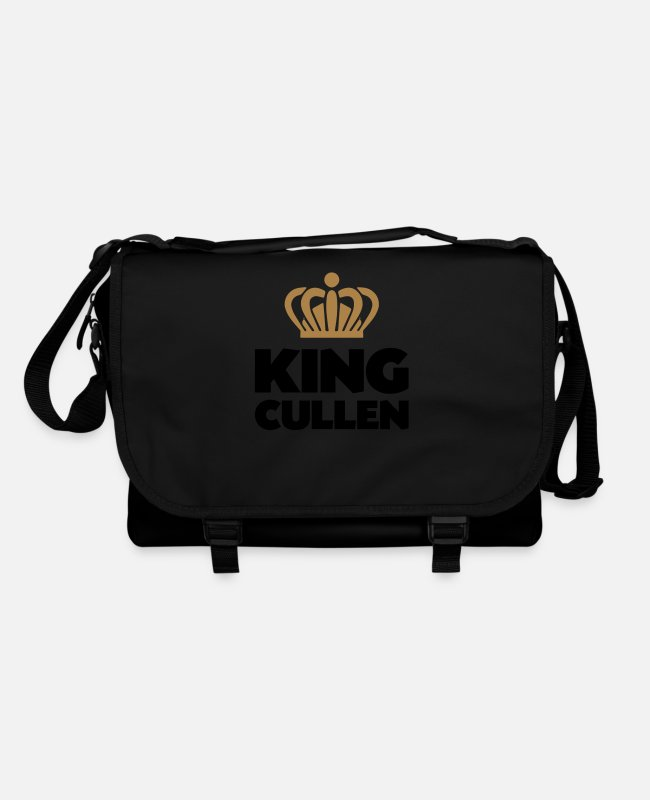 Crown Bags & Backpacks - King cullen name thing crown - Shoulder Bag black/black