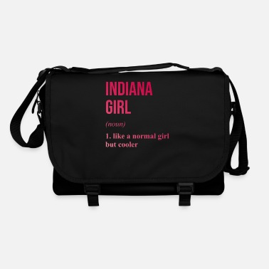 State Of Indiana Indiana Girl | Funny Indiana state - Shoulder Bag
