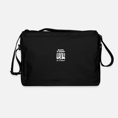 Finger 88 Keys 10 Fingers No Problem For Classic Music - Shoulder Bag