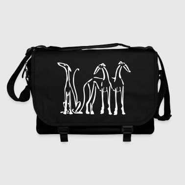 3 sighthounds - Shoulder Bag